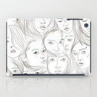 asian iPad Cases featuring Asian Girls by Maria Umiewska
