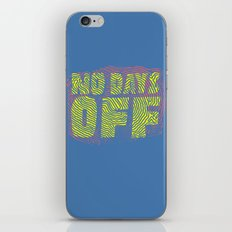 Vacay? iPhone & iPod Skin