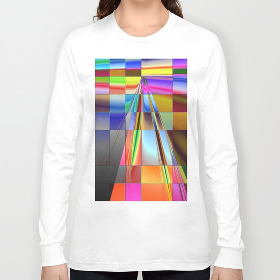 highway to rectangular city Long Sleeve T-shirt