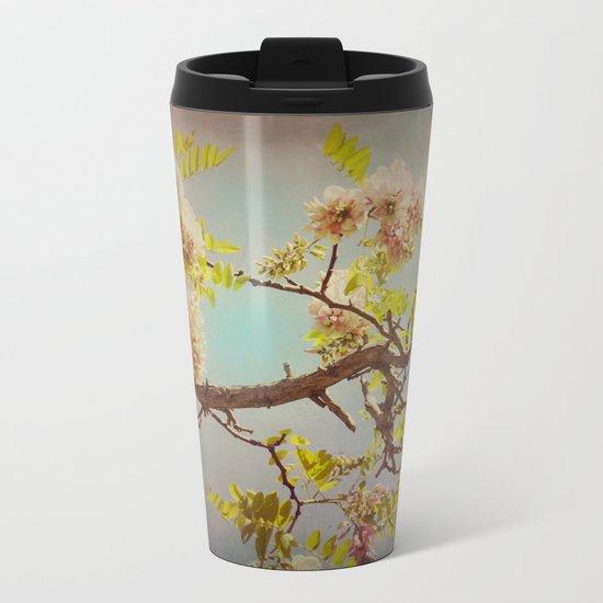 The arms of Spring Metal Travel Mug