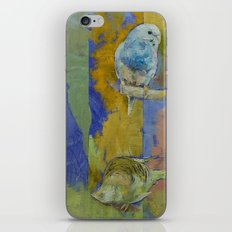 Feng Shui Parakeets iPhone & iPod Skin