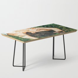 Jungle Vacay #painting #portrait Coffee Table
