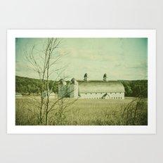 Vintage Rural Art Print