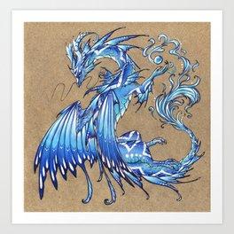 Water dragon Kunstdrucke
