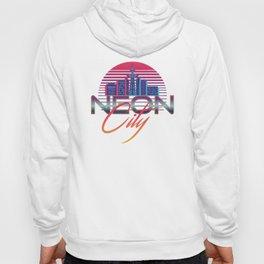Neon City Retro Wave - 80's Aesthethics Hoody