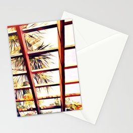 View From the Pergola Stationery Cards