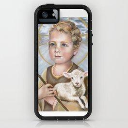 Jesus Lamb of God as Child iPhone Case
