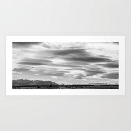 Mackenzie Skies Vista Art Print