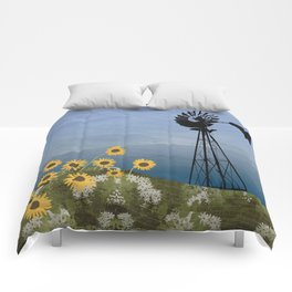 Wind Pump American Style Windmill Comforters