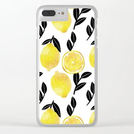 lemon tree Clear iPhone Case