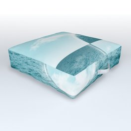 Sea and Sky Outdoor Floor Cushion