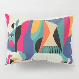 Rhino Pillow Sham