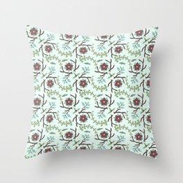 Winter Foliage 2 Throw Pillow