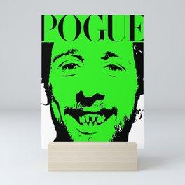 pogues shane mcgowan Mini Art Print