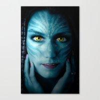 avatar Canvas Prints featuring Avatar by Karel Stepanek
