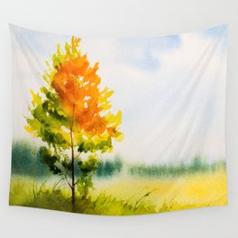 Autumn scenery #22 Wall Tapestry