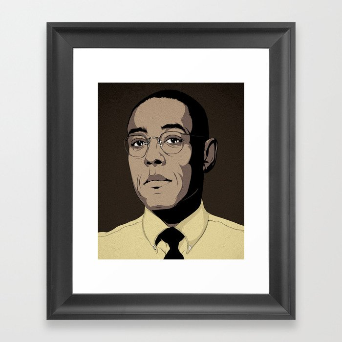 G.F. Framed Art Print