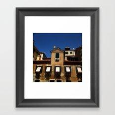 Venetian facade Framed Art Print
