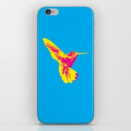 CMY Bird iPhone Skin