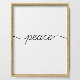 Peace love joy (1 of 3) Serving Tray