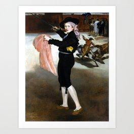 Édouard Manet  Mademoiselle V. in the Costume of an Espada Art Print