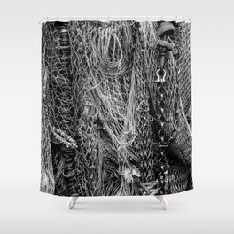 Fishing Nets Shower Curtain