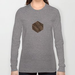 Wooden Square Long Sleeve T-shirt
