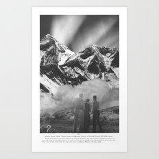 Atomic Flash Art Print