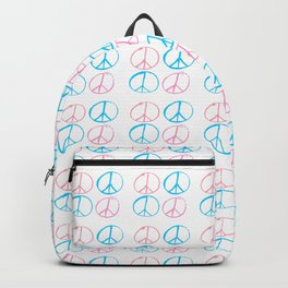 Peace and love-anti-war,pacifist, pacifism,hippies,paz,love,heart, Backpack