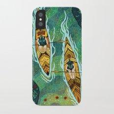 Kayaking iPhone X Slim Case
