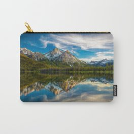 Sawtooth Range Morning Reflection Carry-All Pouch