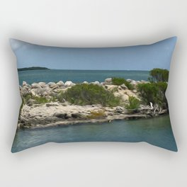 Chilling on the Water Rectangular Pillow