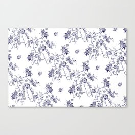 Penis Pattern Canvas Print