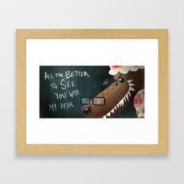 Little Red Riding Hood - Pg 7 Framed Art Print