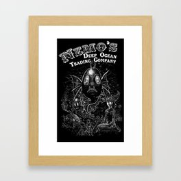 Nemo's Deep Sea Trading Company Framed Art Print
