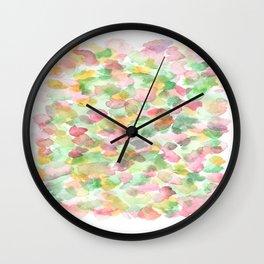 150725 My Happy Bubbles 13 Wall Clock
