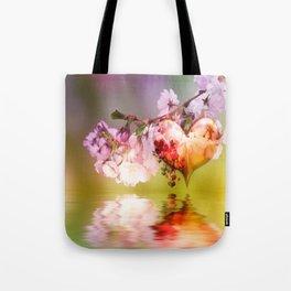Frühlingsherz Tote Bag