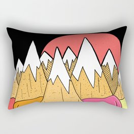 Ice-cream mounts Rectangular Pillow
