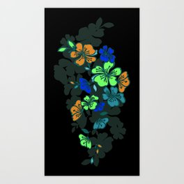 Fabric No.3 Art Print