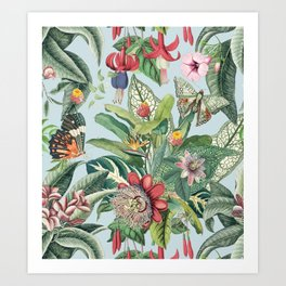Tropical Paradise VI Art Print