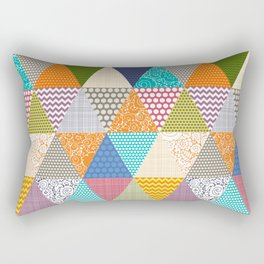 seaview beauty triangles Rectangular Pillow