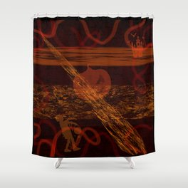 Spooky Holiday I Shower Curtain