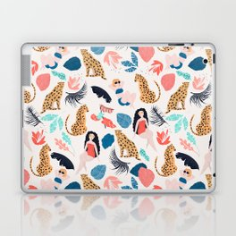 Tropical girls and Cheetah Laptop & iPad Skin