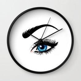 Fashion blue eye Wall Clock