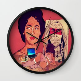 The Artistic Woman Wall Clock