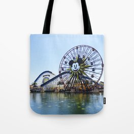 Paradise Pier - Mickey Ferris Wheel (Daytime no.2) Tote Bag
