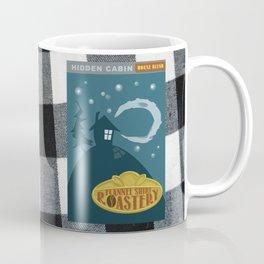 Hidden Cabin - Flannel Shirt Roastery Series Coffee Mug