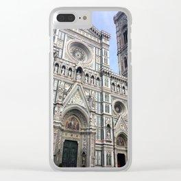 Firenze II Clear iPhone Case