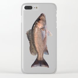 Gray Snapper Clear iPhone Case