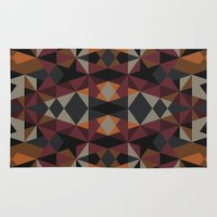 mirror Area & Throw Rugs featuring Mirror by Leandro Pita